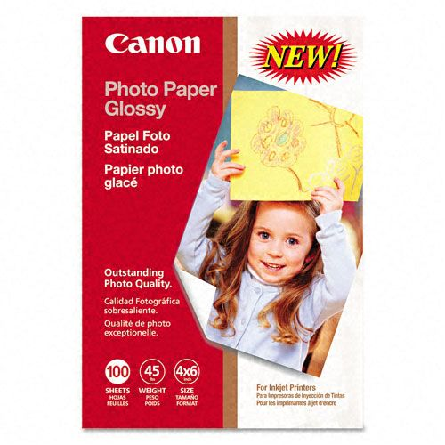 Glossy Photo Paper, 4 x 6, 100 Sheets per