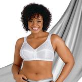 Just My Size Women's JMS® Comfort Cushion Strap Wirefree Bra #1107 at mygofer.com
