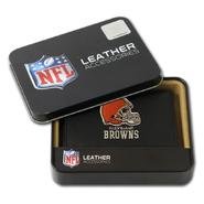 Rico Cleveland Browns Men's Black Leather Tri-fold Wallet at Kmart.com