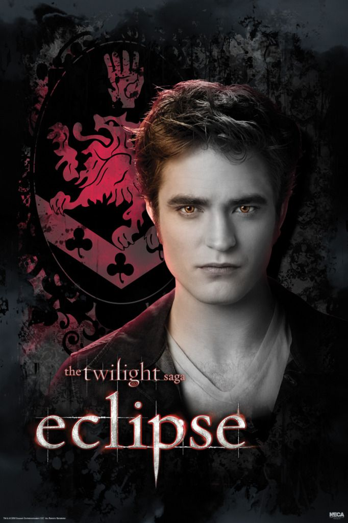 Pyramid Eclipse - Twilght Saga Edward poster