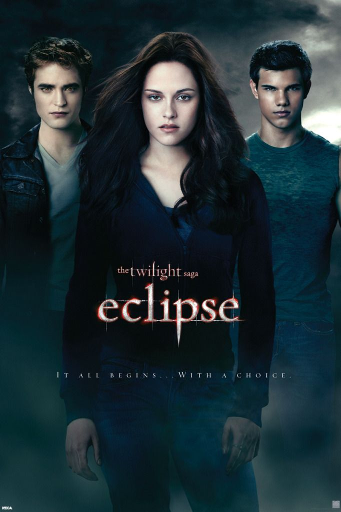 Pyramid Eclipse - Twilght Saga Bella Edward Jacob Poster