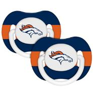Baby Fanatic Denver Broncos Pacifiers (Pack of 2) at Sears.com