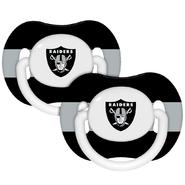 Baby Fanatic Oakland Raiders Pacifiers (Pack of 2) at Sears.com