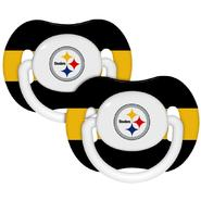 Baby Fanatic Pittsburgh Steelers Pacifiers (Pack of 2) at Sears.com