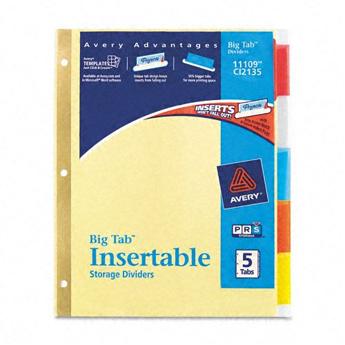 Index Dividers, Tabs & File Guides