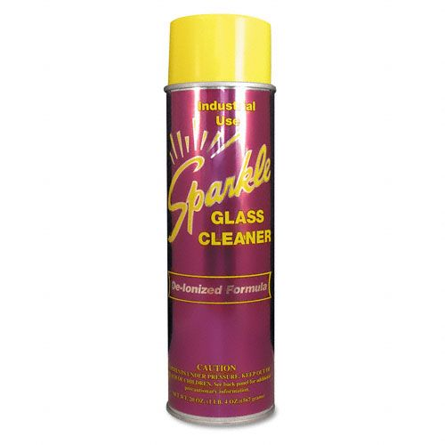 Glass Cleaner, 20oz Aerosol