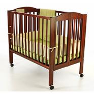 Dream On Me All-In-One Portable Folding Crib, Playpen & Changing Station, Cherry at Sears.com