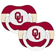 Baby Fanatic Oklahoma Sooners Pacifiers (Pack of 2) at Sears.com