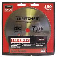 Craftsman 7-1/4 in. Heat Treated Steel Blade - 48T at Sears.com