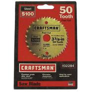 Craftsman 3-3/8 in. Heat Treated Steel Blade - 50T at Sears.com
