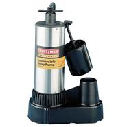 Craftsman Professional 1/2 hp Stainless Steel Submersible Sump Pump at Craftsman.com