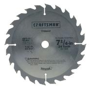 Craftsman 7-1/4 in. Carbide Circular Saw Blade - 24T at Sears.com
