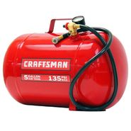 Craftsman 5 Gallon 135 PSI Horizontal Air Tank at Craftsman.com