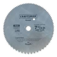 Craftsman 7-1/4 in. Plywood Blade - 100T at Sears.com