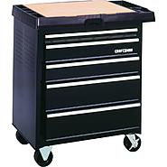 Craftsman 5-Drawer Powered Basic Project Center - Black at Craftsman.com