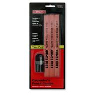 Craftsman Carpenters Pencil and Sharpener, 6 pk. at Craftsman.com