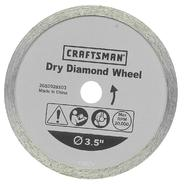Craftsman 3 -1/2 in. Diamond Wheel at Craftsman.com