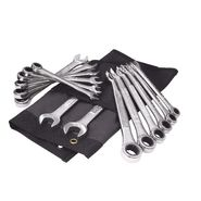 Craftsman 14 pc. Pawless Ratcheting Combination Wrench Set w/ BONUS Deluxe Roll Pouch at Craftsman.com