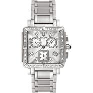Bulova Ladies Calendar Date Watch and 3-Display White Dial and Silvertone Link Band at Sears.com