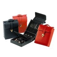 Royce Leather Ladies Pocketbook Jewelry Case - Black at Kmart.com