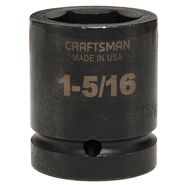 Craftsman 1-5/16 in. Easy-To-Read Impact Socket, 6 pt. Standard 1 in. Drive at Craftsman.com