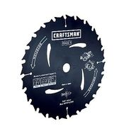 Craftsman CLOSEOUT! 7-1/4 in. Corded Circular/Trim Saw Blade - 40T at Sears.com