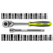 Craftsman Evolv 20 pc. 3/8-in. Drive Tool Set Standard/Metric at Craftsman.com