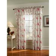Jaclyn Smith Rose Floral Faux Silk Panel at Kmart.com
