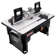 Craftsman Router Table w/Folding Legs and Large 26 x16-1/2 in. Laminated MDF Work Surface at Craftsman.com
