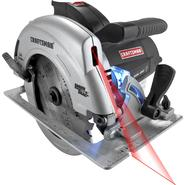 "Craftsman 10870  7-1/4"" Circular Saw with Laser Trac and LED Worklight 10870 at Craftsman.com"