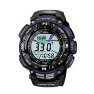 Casio Mens Calendar Day/Date, Solar Power, Tri-Sensor Digital Watch w/Black Band at Sears.com