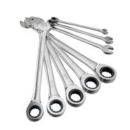 Craftsman 8-piece Inch Flat, Full-Polish Ratcheting Wrench Set at Craftsman.com