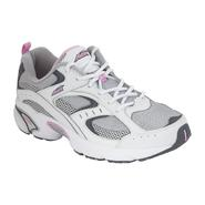 Avia Women's 5018 Running Shoe - White/Gray/Pink at Sears.com