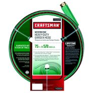Craftsman Heavy Duty Neverkink® Self-Straightening Hose - 75 ft. at Craftsman.com