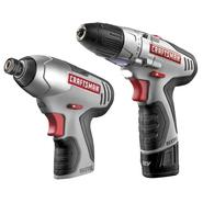 Craftsman 12.0 Volt Lithium-Ion Drill and Impact Combo Kit at Sears.com