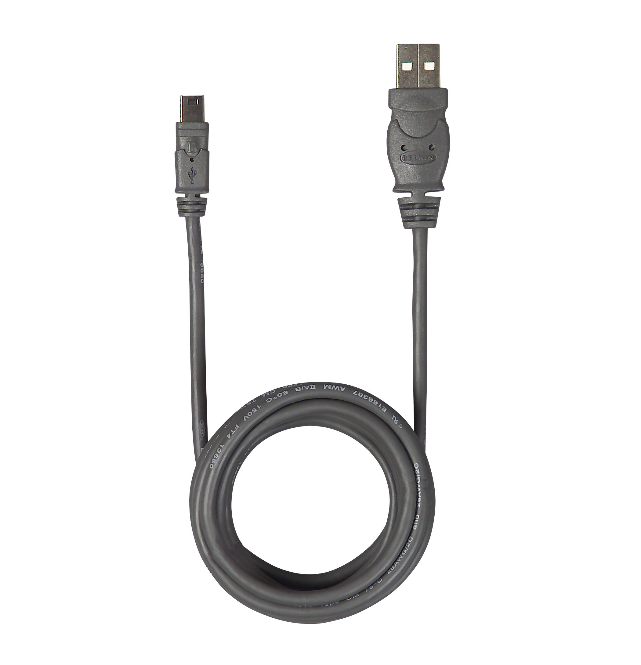 USB- 2.0 / MINI-B 5 pin Pro Cable, 6 ft.                                                                                         at mygofer.com