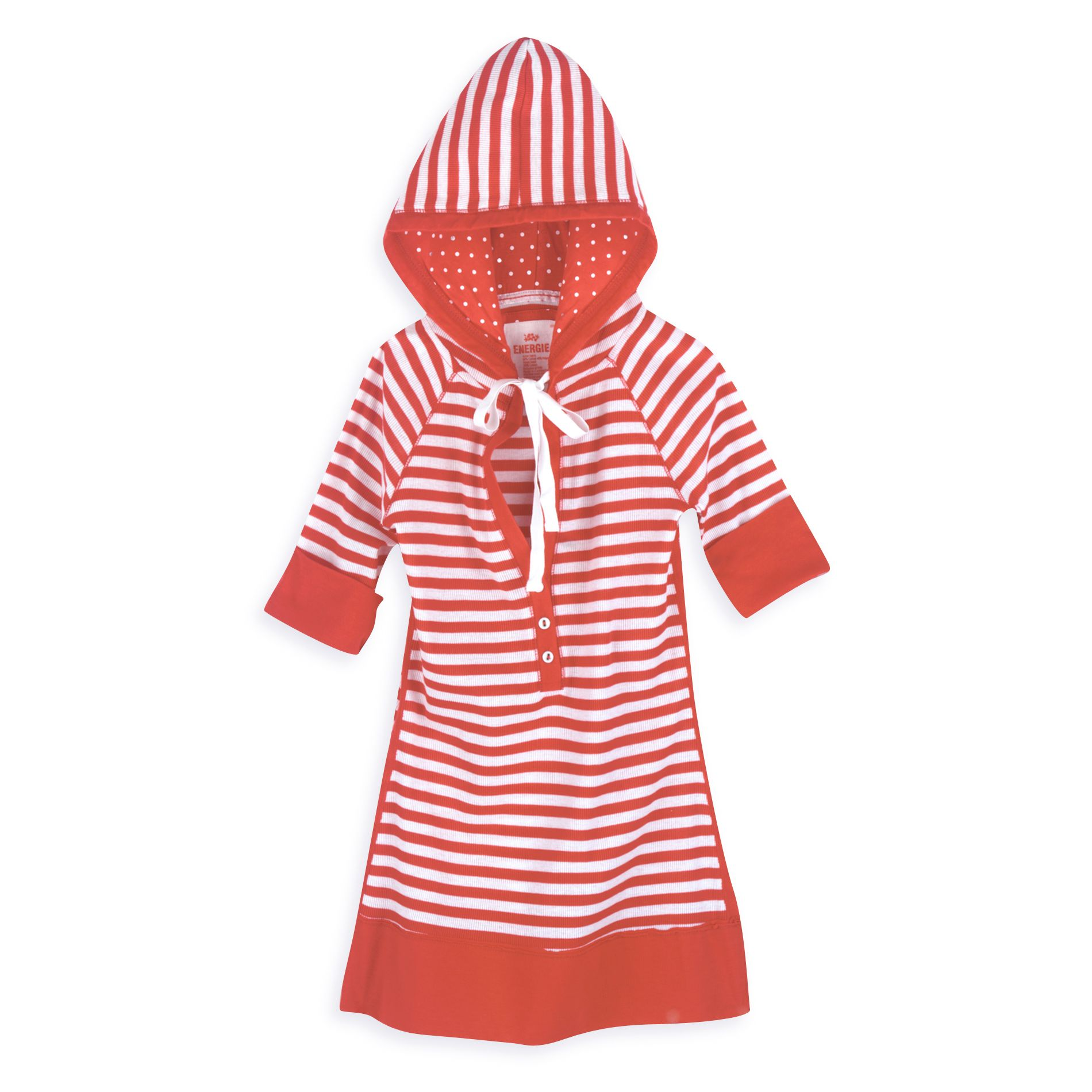 Energie Elbow Sleeve Striped Hoodie at Kmart.com