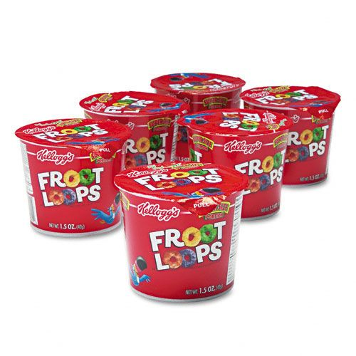 Froot Loops Breakfast Cereal, Single-Serve Cup