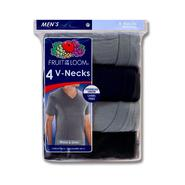 Fruit of the Loom Men's V-Neck T-Shirts - 4 pack at Kmart.com