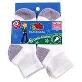 Fruit of the Loom Girl's 6 Pack Ankle Socks at mygofer.com