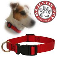 Majestic Pet 14in - 20in Adjustable Collar Red, 40 - 120 lbs dog at Kmart.com
