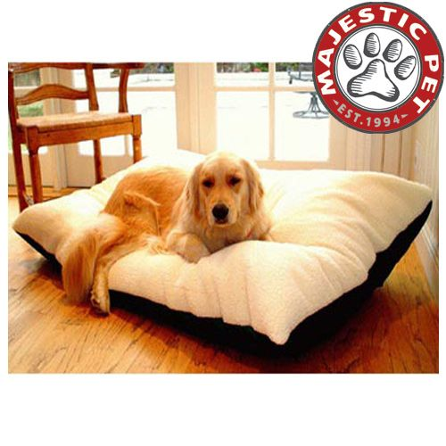 Majestic Pet Extra Large 42x60 Rectangle Pet Bed - Black