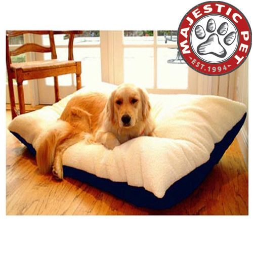 Majestic Pet Extra Large 42x60 Rectangle Pet Bed - Blue