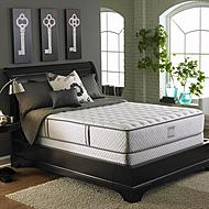 Serta Arno Plush Queen Mattress Set                   ...