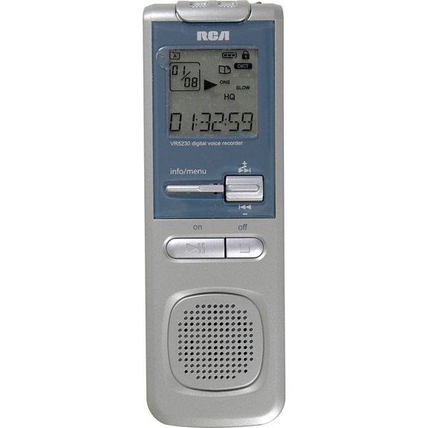 2GB Digital Voice Recorder With USB Direct