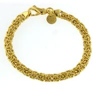 Romanza Byzantine Bracelet set in Gold over Bronze at Kmart.com