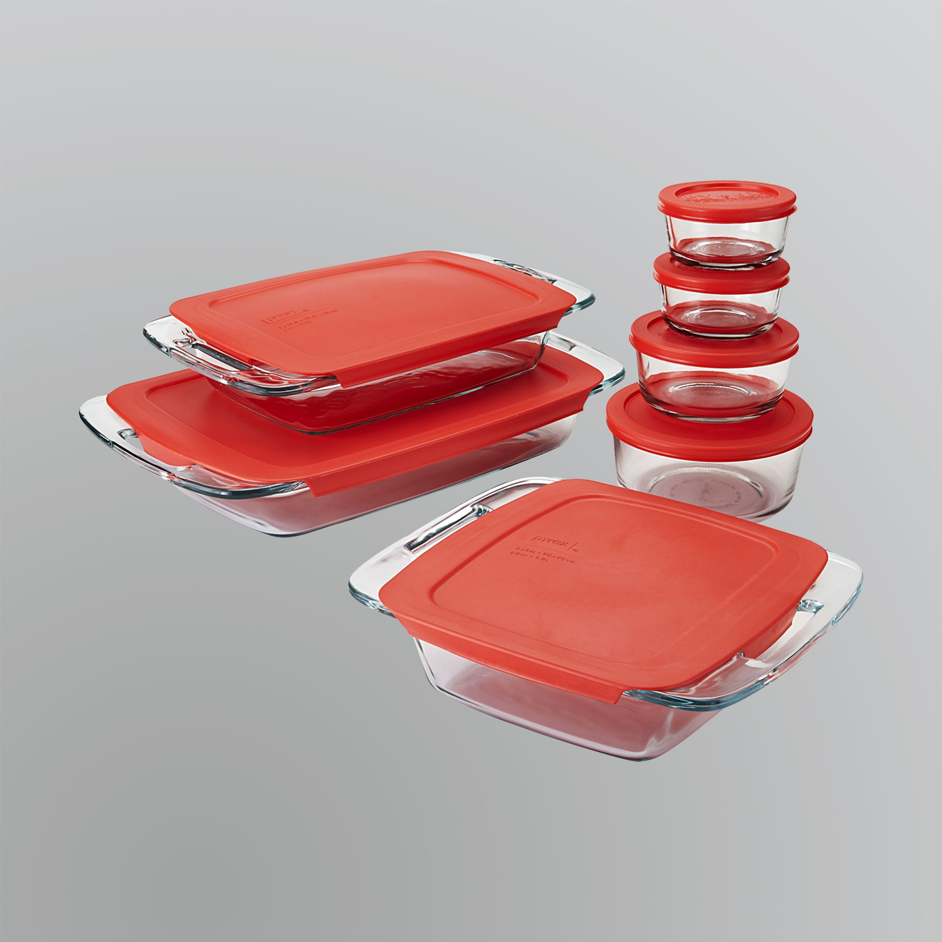 Pyrex  Easy Grab 14-Piece Bake and Store Set