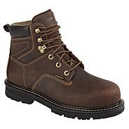 "Wolverine Men's Nolan 6"" Soft Toe Work Boot - Brown at Sears.com"