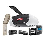 Craftsman AssureLink™ Internet DC Belt Drive Garage Door Opener w/DieHard® Battery Backup, No Annual Fees, Free App Download at Craftsman.com