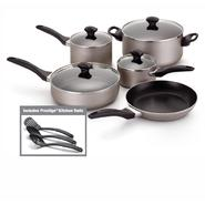 Farberware 12 pc Dishwasher Safe Non-Stick Champagne Cookware Set at Sears.com